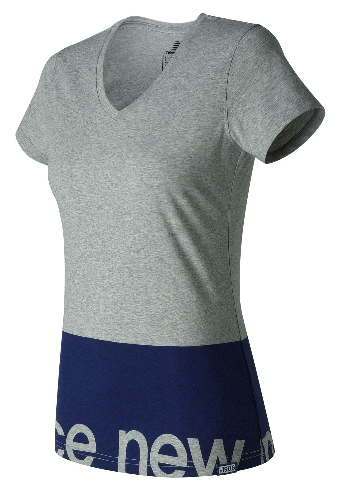 New Balance : Classic V Neck Tee : Women's Casual : WT71551AG