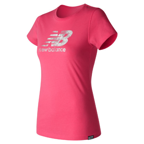 New Balance Batik Logo Tee Girl's All Clothing - WT71556AKK