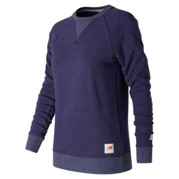 New Balance MiUSA Crewneck Fleece, Dark Denim