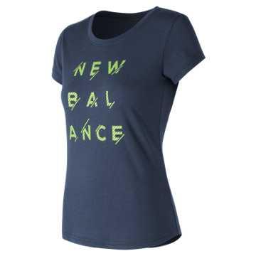 New Balance Sport Style Tee, Navy