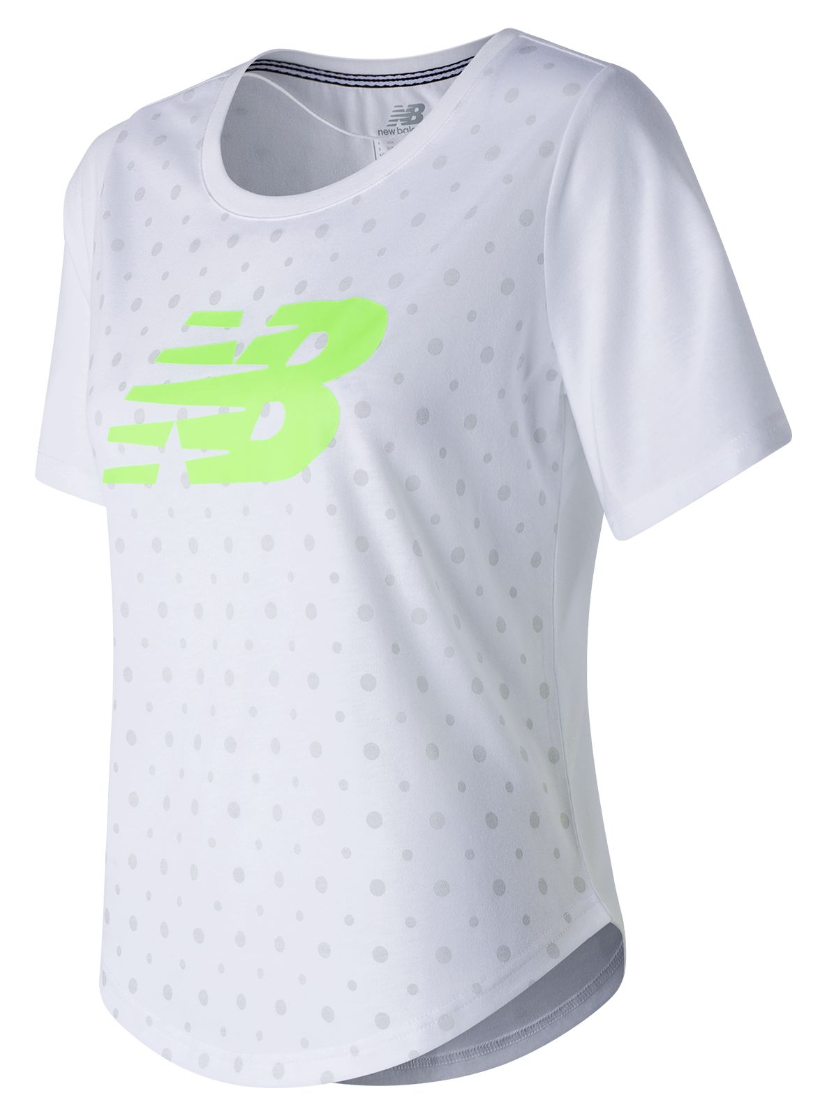 New Balance : Womens Trackster SS Top : Women's Casual : WT71645WT