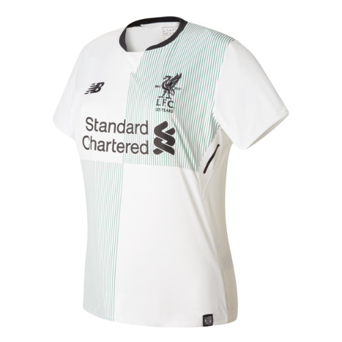 New Balance : LFC Away Womens SS Jersey : Women's 2017/18 Away Kit : WT730015WT
