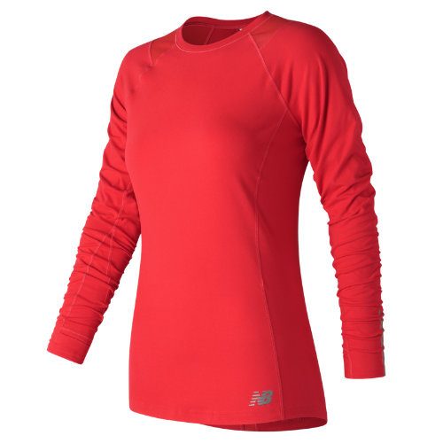 New Balance In Transit Long Sleeve Girl's All Clothing - WT73119ENR