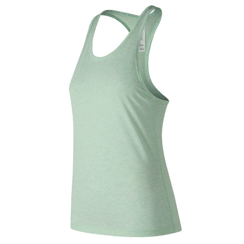 New Balance : Heather Tech Racerback : Women's Performance : WT73125WVH