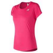 Accelerate Short Sleeve, Pink Zing