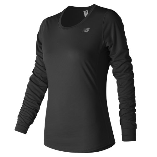 New Balance Accelerate Long Sleeve Girl's Clothing Outlet - WT73132BK