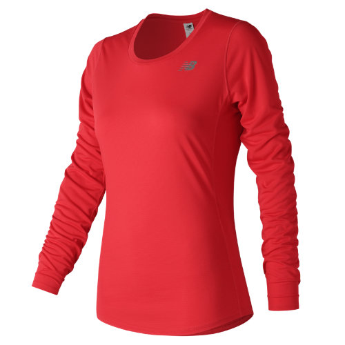 New Balance Accelerate Long Sleeve Girl's All Clothing - WT73132ENR