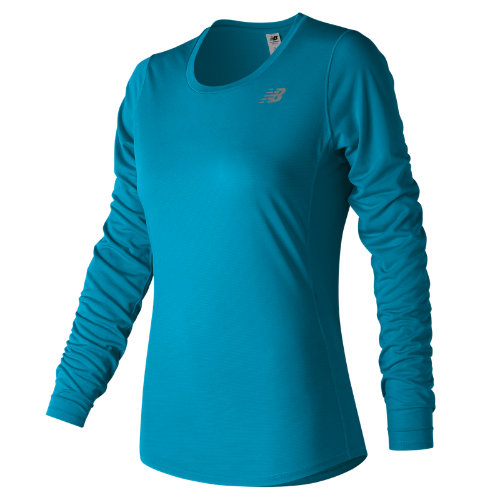 New Balance Accelerate Long Sleeve Girl's All Clothing - WT73132MLE