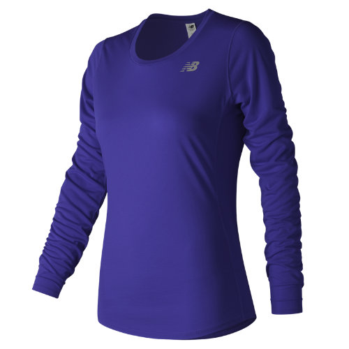 New Balance Accelerate Long Sleeve Girl's All Clothing - WT73132TMP