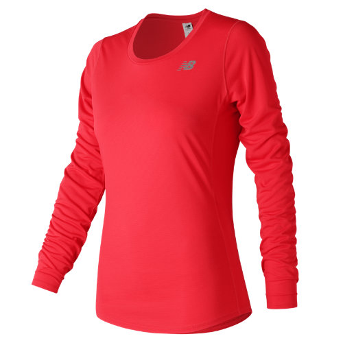 New Balance Accelerate Long Sleeve Girl's All Clothing - WT73132VCO
