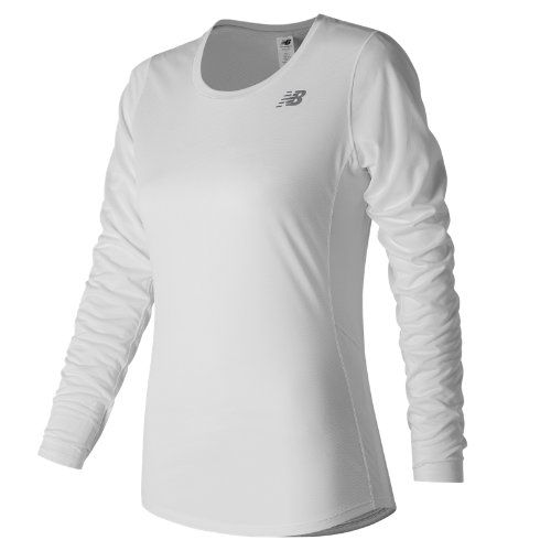 New Balance Accelerate Long Sleeve Girl's Clothing Outlet - WT73132WT