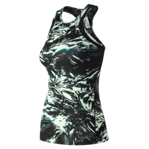 New Balance : Anticipate Printed Tank : Women's Performance : WT73141BTW
