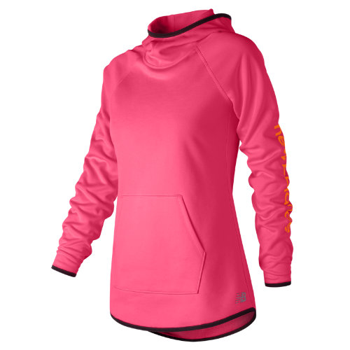 New Balance : NB CoreFleece Hoodie : Women's Performance : WT73151AKK