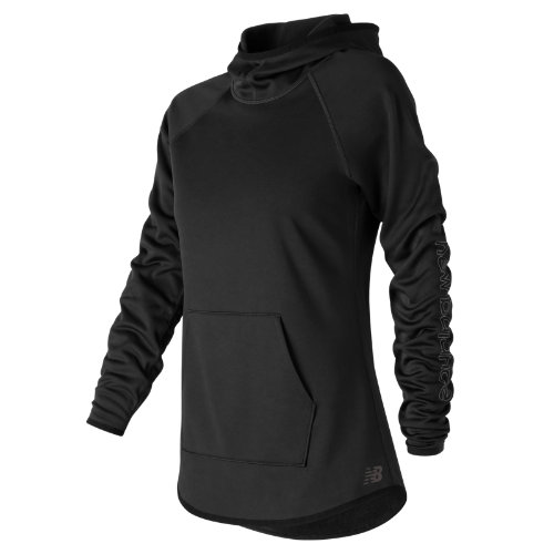 New Balance : NB CoreFleece Hoodie : Women's Performance : WT73151BK