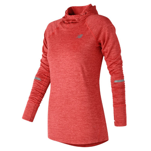 New Balance NB Heat Hoodie Girl's All Clothing - WT73220ERH