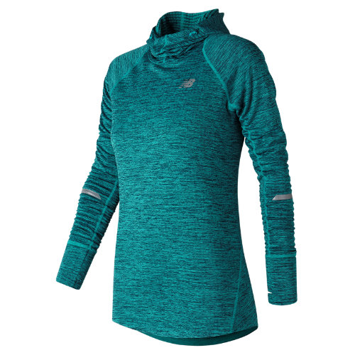 New Balance NB Heat Hoodie Girl's All Clothing - WT73220PIH
