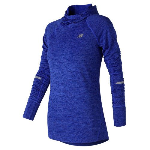 New Balance NB Heat Hoodie Girl's All Clothing - WT73220VCR