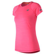 Seasonless Short Sleeve, Alpha Pink