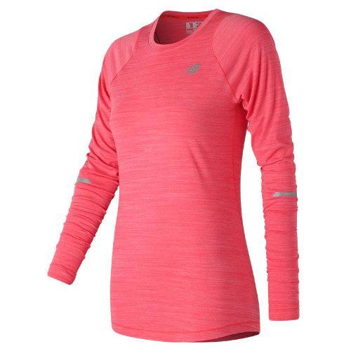 New Balance Seasonless Long Sleeve Girl's All Clothing - WT73236ERH