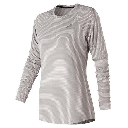 New Balance Seasonless Long Sleeve Girl's All Clothing - WT73236OCR