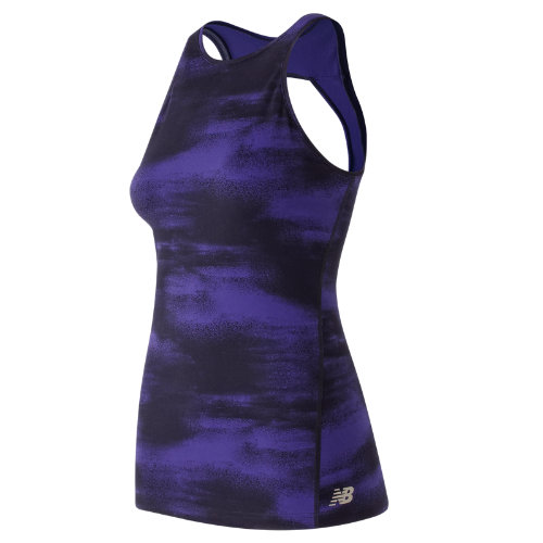 New Balance Evolve Open Printed Tank Girl's All Clothing - WT73462FST