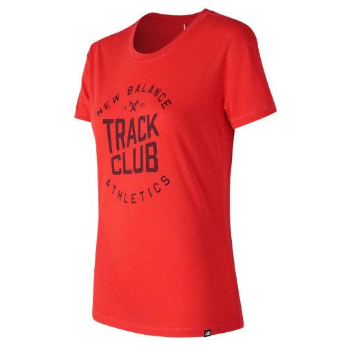 New Balance NB Track Club Tee Girl's All Clothing - WT73503ENR