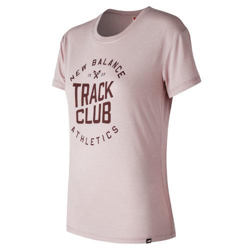 New Balance NB Track Club Tee Girl's All Clothing - WT73503FDR