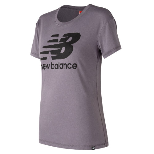 New Balance : NB Logo Tee : Women's Casual : WT73504SRA