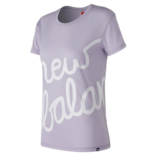New Balance : NB Logo Tee : Women's Casual : WT73505THI