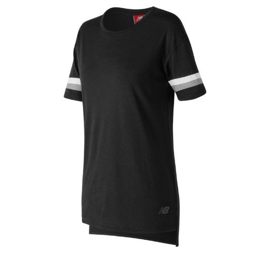 New Balance : NB Athletics Tunic Tee : Women's Casual : WT73510BK
