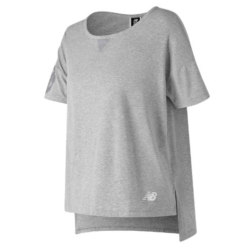 New Balance 247 Sport Boxy Tee Girl's Clothing Outlet - WT73512AG