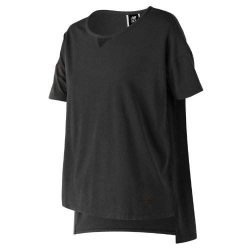 New Balance 247 Sport Boxy Tee Girl's Clothing Outlet - WT73512BK