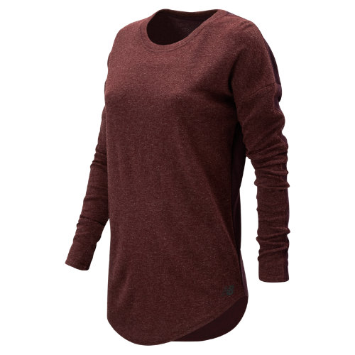 New Balance 247 Luxe Long Sleeve Girl's All Clothing - WT73513CTC