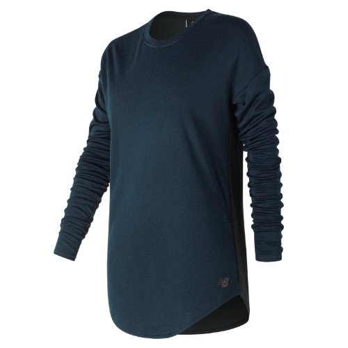 New Balance 247 Luxe Long Sleeve Girl's All Clothing - WT73513GXY