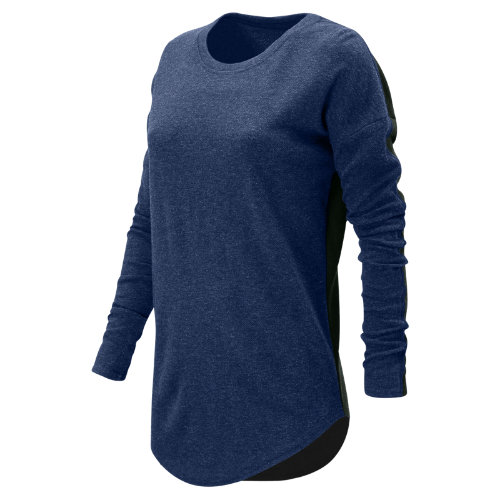 New Balance 247 Luxe Long Sleeve Girl's All Clothing - WT73513TMP