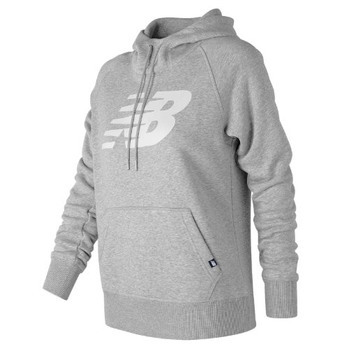 New Balance : Essentials Pullover Hoodie : Women's Casual : WT73526AG