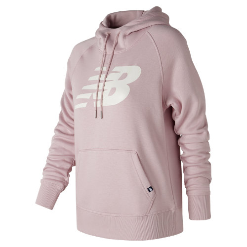 New Balance Essentials Pullover Hoodie Girl's All Clothing - WT73526FDR