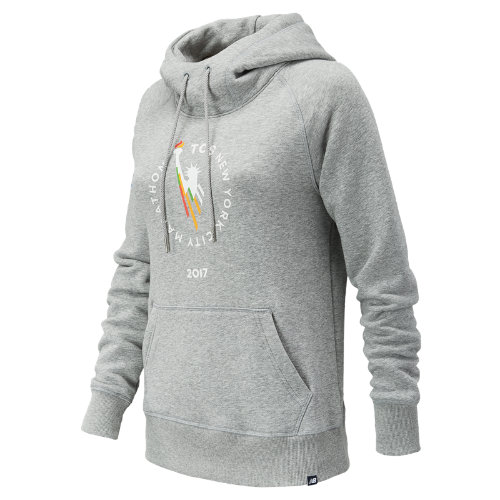 New Balance NYC Marathon Essentials Pullover Hoodie Girl's All Clothing - WT73526VAG