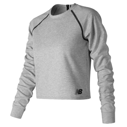 New Balance : 247 Luxe Crop Long Sleeve : Women's Casual : WT73527AG