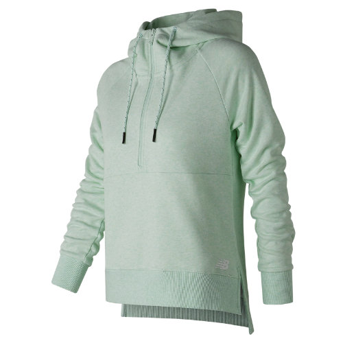 New Balance NB Athletics Half Zip Hoodie Girl's All Clothing - WT73528WVH