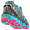 New Balance 810v2, Grey with Blue Atoll & Pink Shock
