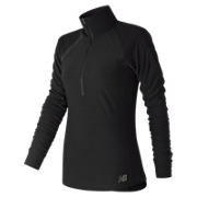 Anticipate Half Zip, Black