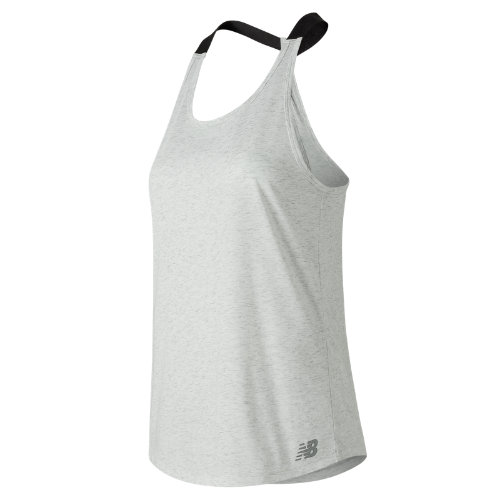 New Balance Heather Tech Tank Girl's Performance - WT81144SAH