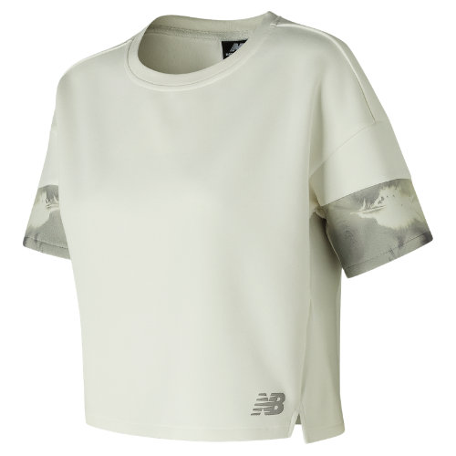 New Balance 247 Luxe Cropped Crew Girl's Casual - WT81524SST