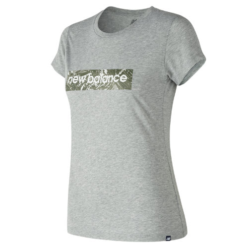 New Balance Essentials Palm Camo Tee Girl's  - WT81540AG