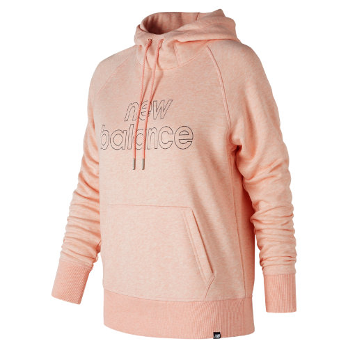 New Balance Essentials Pullover Hoodie Girl's Casual - WT81551AGR