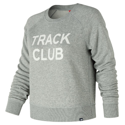 New Balance Essentials Track Club Crew Girl's Casual - WT81566AG