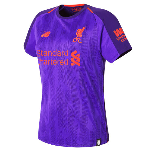 New Balance LFC Away Womens Short Sleeve Jersey Girl's Football - WT830019DV