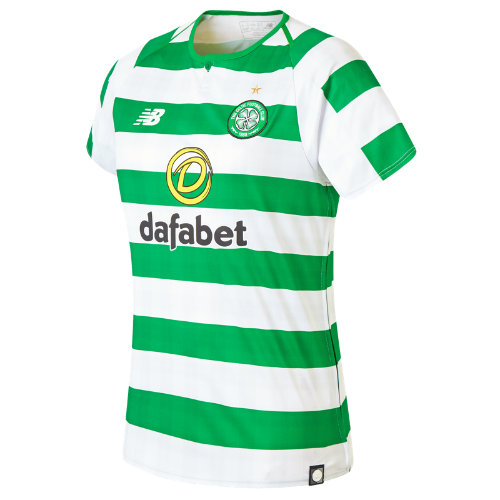 New Balance Celtic FC Home Womens Short Sleeve Jersey Girl's  - WT830058WCG