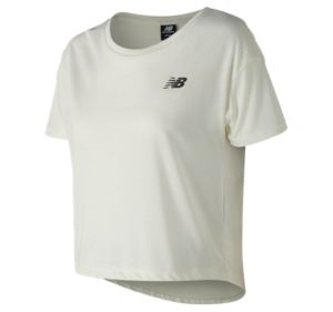 뉴발란스 New Balance Womens 247 Sport NB Tee,Sea Salt